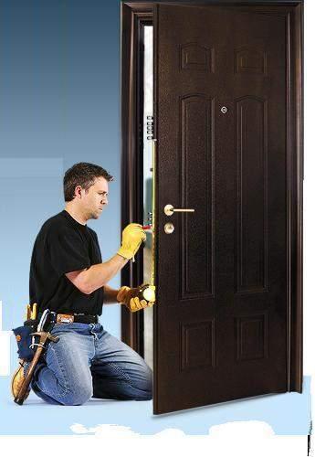 двери входные установк